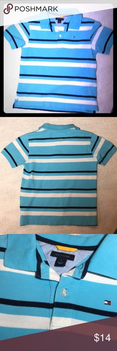 Tommy Hilfiger Polo Shirt Size 6. Tommy Hilfiger Polo Shirt Size 6.  In good condition. Used items: pictures show signs of wear. Inspected for quality. Tommy Hilfiger Shirts & Tops Polos