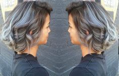Beautiful Silver Ombre Hairstyles For Short HairFacebookGoogle+InstagramPinterestTumblrTwitterYouTube