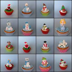 Christmas cupcakes | Flickr : partage de photos !