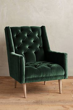 Velvet Booker Armchair