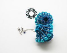 3D Soutache Earrings by Antidotum on Etsy, €70.00