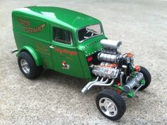 Willys Panel truck