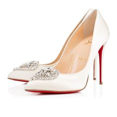 Love this by CHRISTIAN LOUBOUTIN Cristacora Crepe Satin/Satin/Lurex - New Arrivals - $1295