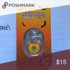 HALLOWEEN LENS AND CASE 1 pair + a FREE case with purchase. BUNDLE and save even more!! Jewelry Earrings