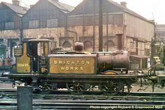 David Heys steam diesel photo collection - 87 - BR RAILWAY ROUNDABOUT 2