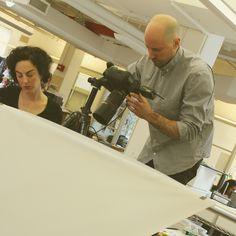 behind the scenes! s