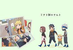 Obito, Rin, Naruto and Kakshi Naruto Gif, Naruto Fan Art, Naruto Cute, Naruto Sasuke Sakura, Naruto Images, Naruto Shippuden Sasuke, Naruto Funny, Sasunaru, Team Minato