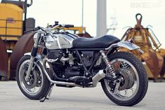 Italy's Officine RossoPuro builds elegant and desirable Moto Guzzi customs. This is Filippo Barbacane's latest work, an 850 T3 christened 'Metallica.'
