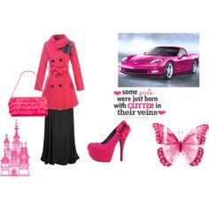 """""""pink"""" by arkgirl on Polyvore"""