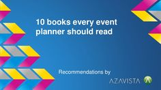 10 books every planner should read by azavista via slideshare Event Planning Tips, Event Management, Let Them Talk, Fails, Reading, Books, Libros, Word Reading, Book