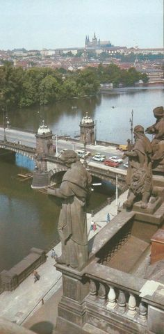 Photographer of the month: František Přeučil, view from the rooftop of the National Theatre National Theatre, Czech Republic, Rooftop, Statue Of Liberty, Travel, Prague, Liberty Statue, Voyage, Viajes