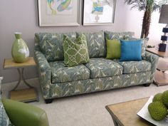 With the tropical prints and clean lines, this Berkeley Style Queen Sleeper Sofa is ideal for your vacation rental condominium or island cottage. Bring hints of the islands into your space with this contemporary sofa.   Check it out at: http://www.mindseyeinterior.com/products-furniture-sofas-and-loveseats.php  #CreativeHomeDecor #IslandInspiration #HomeInspo