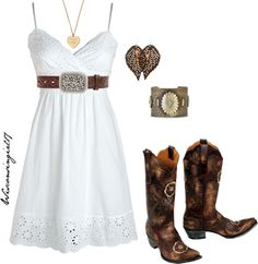 """She's a hot mess in a sundress"" by wisconsingirl17 ❤ liked on Polyvore"
