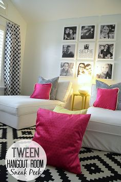 Tween Hangout Room using [@Waverly] - Sneak Peek! -- Tatertots and Jello #inawaverlyworld