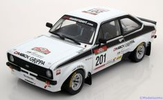 Ford Escort RS1800 (2010), Winner Rally Portugal Revival, No.201, Kankkunen/Grist. Sunstar, 1/18, No.4493, Limited Edition 928 pcs. 65€