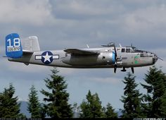 North American B-25J Mitchell. My baby, Maid in the Shade :)