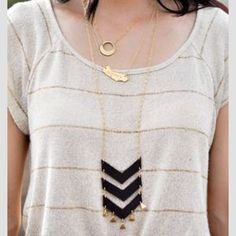 I just discovered this while shopping on Poshmark: Leather necklace. Check it out!  Size: OS