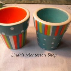 Montessori Practical Life, Small Spoon, Egg Cups, Motor Activities, Orange Pink, Beans, Objects, Colorful, Blue