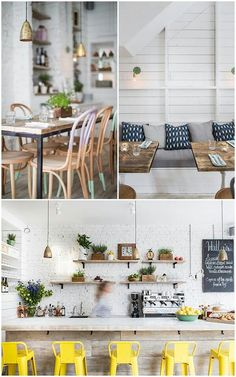 Elements I like about this look: greenery, brightness, natural wood accents, cozy feel