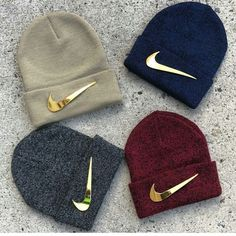 Swag Outfits For Girls, Outfits With Hats, Nike Outfits, Cute Casual Outfits, Tomboy Fashion, Teen Fashion Outfits, Beanie Outfit, Accesorios Casual, Hype Shoes