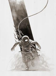 Michael Manomivibul Illustration