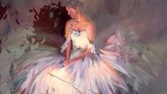 """Wonderful famous paintings, reunited in an exceptional video, entitled """"Ballerinas promenade"""", with musical background, the song with the same name by Line N. Ballerinas, Line, Painting, Art, Art Background, Ballet Flats, Fishing Line, Ballerina Pumps, Painting Art"""