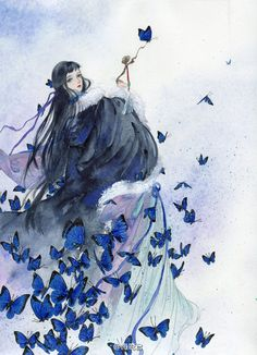 Must-read fantasy books with romantic male and female protagonists on You will love to read these ❤❤❤❤❤❤ Chinese Painting, Chinese Art, Fantasy Artwork, Fantasy Books, Ancient Art, Traditional Art, Asian Art, Japanese Art, Art Images