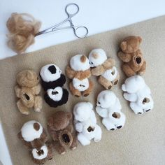 Sewing PATTERN PDF miniature teddy bear, by Tatiana Scalozub, Bestseller, how to make teddy bear step by step, diy miniature teddy bear Teddy Bear Patterns Free, Teddy Bear Sewing Pattern, Sewing Toys, Sewing Crafts, Sewing Projects, Mini Teddy Bears, Sell On Etsy, Plushies, Softies