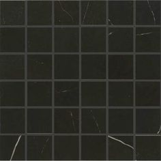Daltile Marble Attache Nero Matte x Mosaic - Regal Floor Coverings Installing Tile Floor, Floor Outlets, Leed Certification, Tiles Price, Mosaic Wall Tiles, Thing 1, Best Flooring, Black Marble, Edge Design
