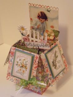Birthday Box by MALK3 - Cards and Paper Crafts at Splitcoaststampers