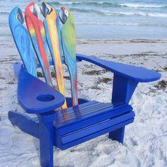 Adirondack Chair - Parrot Design