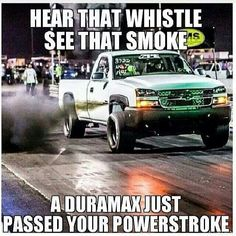 Duramax just keep calm and roll coal