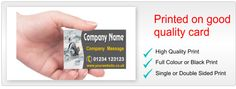 Choose business cards from over 3500 designs or design your own. Our business cards are great for networking.