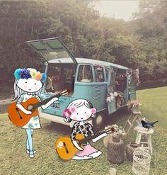 Annelinde Tempelman / Gitaar spelen in de hippietijd