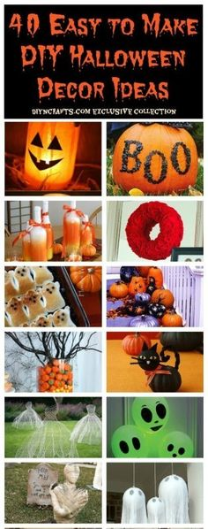 40 Easy to Make DIY Halloween Decor Ideas - Page 3 of 4 - DIY & Crafts