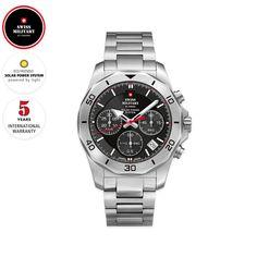 Dieses Produkt ist ein Chronograph der Marke SWISS MILITARY by Chrono. Diese Armbanduhr ist mit einem hochwertigen, modernen Solar-Uhrwerk ausgestattet. Batterien werden also nicht benötigt. Das klassische Aussehen ist ein Blickfang und macht einen gefälligen Eindruck am Handgelenk. Diese Uhr wird in einer attraktiven Geschenkverpackung geliefert. #Werbeartikel, #Werbemittel, #Kundengeschenke, #Firmengeschenke Chronograph, Solar Power System, Casio Watch, Accessories, Tote Bag, Highlighter Pen, Promotional Giveaways, Solar Energy System, Jewelry Accessories