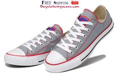 Converse Chuck Taylor Embroidery Low Canvas Sneakers