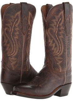 Lucchese - Cassidy Cowboy Boots. Cowboy boot fashions. I'm an affiliate marketer. When you click on a link or buy from the retailer, I earn a commission.
