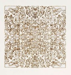 Burned Paper by Donna Ruff  http://www.donnaruffart.com