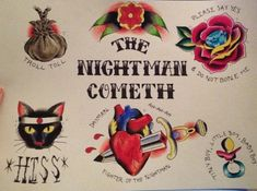 """""""The Nightman Cometh"""" by wxrArt on Etsy"""