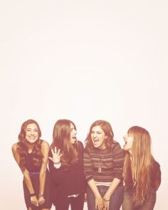 You, Melisa, Enisa, and me...should do a picture like this (and we don't even have to be in our 20's)!