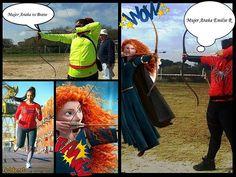 Mujer Araña Emilse Runner Archery