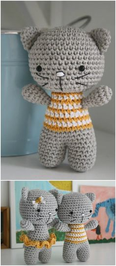 you are good at crocheting then here is a big list of free crochet cat patterns for you!Little Cat Free Amigurumi Crochet Pattern