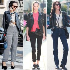 Wear your motorcycle jacket anywhere, with anything #stylingtip