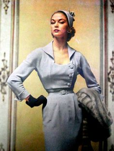 Jean Patchett for Vogue US, 1951.