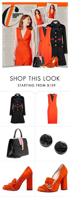 """""""Bryce Dallas Howard"""" by petri5 ❤ liked on Polyvore featuring Gucci, Victoria Beckham, Neda Tahniat and Fashion's Night Out"""