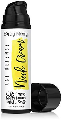 Body Merry Lifting Neck Cream - Anti-Wrinkle Daily Firming Moisturizer With Glycolic Acid for Sagging Skin, Creases & Lines - Anti-Aging Hydration From Face to Chest - #GetHappyAboutYourSkin Body Merry http://www.amazon.com/dp/B00S59Z78S/ref=cm_sw_r_pi_dp_Cjg5wb1YPWYMY