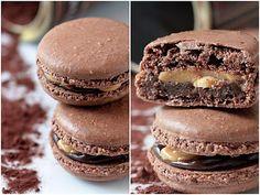 snickers macarons....look amazing!