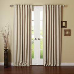Best Home Fashion, Inc. Thermal Insulated Blackout Curtain Panels & Reviews | Wayfair