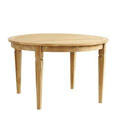 Classic Teak Round Dining Table